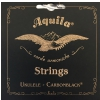 Aquila Carbonblack struny do ukulele GCEA Tenor, low-G