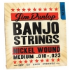 Dunlop Banjo Nickel Strings Medium 5 strings struny do banjo 10-23