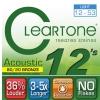 Cleartone struny do gitary akustycznej 12-53 bronze