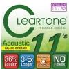 Cleartone struny do gitary akustycznej 11-52 bronze