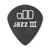 Dunlop 482R Tortex Pitch Black Jazz kostka gitarowa 0.60mm