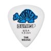 Dunlop 424R Tortex Wedge  kostka gitarowa 1.00mm niebieska