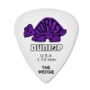 Dunlop 424R Tortex Wedge  kostka gitarowa 1.14mm purpurowa