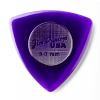 Dunlop 473R Triangle Stubby 3.0mm purpurowa