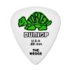 Dunlop 424R Tortex Wedge  kostka gitarowa 0.88mm zielona