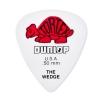 Dunlop 424R Tortex Wedge  kostka gitarowa 0.50mm czerwona
