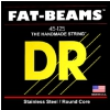 DR FAT BEAMS - struny do gitary basowej, 4-String, Medium, .045-.105