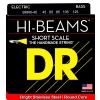 DR HI-BEAM - struny do gitary basowej, 5-String, Medium, .045-.105, Short Scale