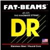 DR FAT BEAMS - struny do gitary basowej, 4-String, Light, .040-.100