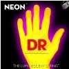 DR NEON Hi-Def Yellow - struny do gitary basowej, 4-String, Light, .040-.100