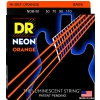 DR NEON Hi-Def Orange - struny do gitary basowej, 4-String, Heavy, .050-.110