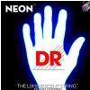 DR NEON Hi-Def White - struny do gitary basowej, 4-String, Light, .040-.100