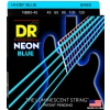 DR NEON Hi-Def Blue - struny do gitary basowej, 5-String, Medium, .045-.125