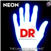 DR NEON Hi-Def White - struny do gitary basowej, 5-String, Medium, .045-.125