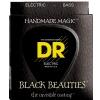 DR K3 BLACK BEAUTIES - struny do gitary basowej, 5-String, Coated, Heavy Taper, .050-.110, Tapered E-String