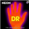 DR NEON Hi-Def Orange - struny do gitary basowej, 6-String, Medium, .030-.125