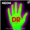 DR NEON Hi-Def Green - struny do gitary basowej, 6-String, Medium, .030-.125