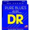 DR PURE BLUES - struny do gitary basowej, Medium, .045-.130