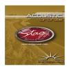 Stagg AC12STBR struny do gitary akustycznej dwunastostrunowej 10-47