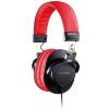 Prodipe 3000BR słuchawki zamknięte (32 Ohm), kolor czarno-czerwony