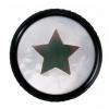 Warwick WAR-30515-BK-STARSt Knopf,rund 4-6mm, 1,2,3Star, SW st knob,round 4-6mm, 1,2,3Star, BK, gałka potencjometru