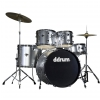 DDrum D2 Brushed Silver zestaw perkusyjny