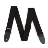 Dunlop Cotton Strap ″ Black pasek gitarowy