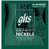 GHS Balanced Nickels - struny do gitary basowej, Medium, .044-.106