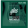 GHS Balanced Nickels - struny do gitary basowej, Light, .040-.101