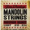 Dunlop struny do mandoliny Phosphor light 8 string