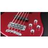 RockBass Streamer LX 5-str. Red Metallic High Polish, Active, Fretted gitara basowa