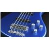 RockBass Streamer LX 5-str. Blue Metallic High Polish, Active, Fretted gitara basowa