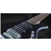 RockBass Corvette Basic 5-str. Nirvana Black Transparent Satin, Fretted gitara basowa