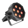 Cameo FLAT PAR 1 RGBW IR lampa PAR 7x4W FLAT RGBW w czarnej obudowie