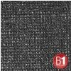 Adam Hall 0155 X 46 B - Gaza typu 100, 4 x 6 m, z oczkami, czarna