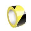 Adam Hall Accessories 5803 E - Taśma ostrzegawcza, 0,15 mm x 50 mm x 33 m, żółto-czarna