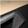 Adam Hall Accessories 0153 X 208 - Molton sceniczny B1 z taśmą na rzepy, 2 x 0,8 m