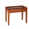 K&M 13740-000-28 rama ławy do pianina, wiśnia mat