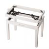 K&M 13710-000-22 rama ławy do pianina, biały mat