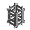 DuraTruss DT 44-SLEEVE Sleeve Block element konstrukcji aluminiowej do DT-44 i DT-44/4