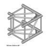 DuraTruss DT 44/2-C21-L90 element konstrukcji aluminiowej, narożnik 90st 50cm