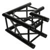 DuraTruss DT 34/2-C21-L90-BK czarny element konstrukcji aluminiowej, narożnik 90st