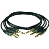 Klotz zestaw 3 kabli połączeniowych do efektów gitarowych 90cm