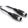 Hosa MID-303BK kabel MIDI 5-pinowe DIN 0.91m