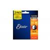 Elixir 16542 NW Light portójny zestaw strun do gitary elektrycznej 10-46