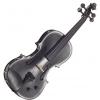 Stentor 1515BLA skrzypce elektryczne 4/4 Harlequin, zestaw, czarny