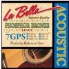 LaBella 7GPS struny do gitary akustycznej 12-52