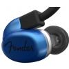 Fender CXA1 IE Blue słuchawki douszne z wbudowanym mikrofonem i 3-przełącznikowym pilotem, kolor niebieski