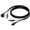 Procab CAB400/20  przewód zasilanie 230V 3x1,5mm +  sygnał audio XLR-XLR 20m