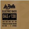 LaBella RX S5D struny do gitary basowej 45-130